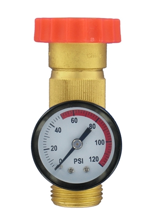 Valterra Water Regulator Gauge Combo