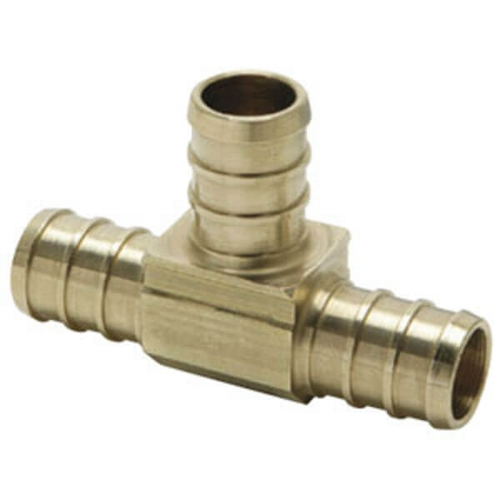 Elkhart Supply 51151 BestPEX Brass Insert Tee - 1/2""