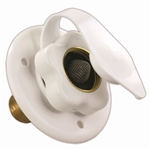 JR Products 160-85-A-26-A Polar White City Water Flange