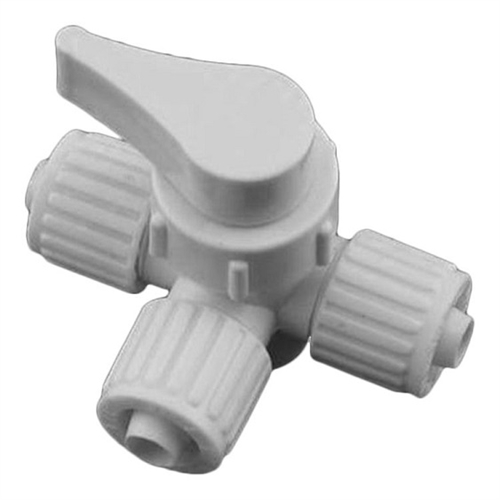 Flair-It 16900 3-Way Valve, Water Shut-Off, 3/8""