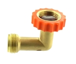 Valterra Brass 90 Degree Hose Saver