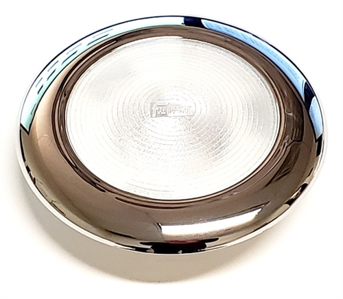 FriLight Mars LED Light With Chrome Trim & Switch - 284 Lumens - Cool White