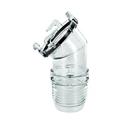 Valterra Clear View 45 Degree Hose Adapter
