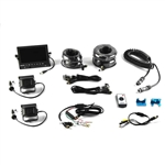 BrandMotion 9002-7803V2 Universal Trailer Dual Rear Camera System With 7″ Monitor