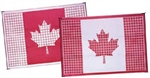 Faulkner 52305 Reversible Outdoor Patio Mat - Canadian Flag - 12' x 9'
