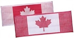 Faulkner 52306 Reversible Outdoor Patio Mat - Canadian Flag - 20' x 8'