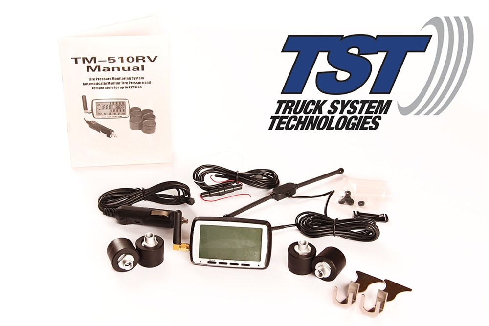 Tire Pressure Monitor >> Tst 510tpms6 510 Tire Pressure Monitor System With 6 Tire Sensors