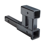 "Buyers Products 1804010 Dual 2"" Receiver Trailer Hitch Adapter"