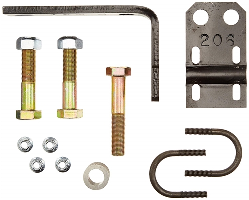 Safe T Plus F-143K3 RV Steering Stabilizer Bracket Kit - 1-3/4""