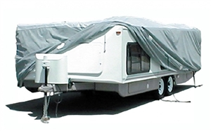 "ADCO 12252 20'-22'6"" SFS AquaShed Hi Lo Trailer Cover"