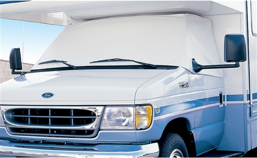 ADCO 2407 Windshield Cover For 1996-2019 Ford Class C RVs With Mirror Cut-Outs