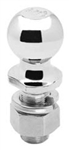 "Draw-Tite 63840 Chrome Hitch Ball, 2-5/16"" x 1-1/4"" x 2-3/4""; 20,000 lbs."