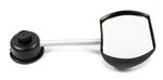 Camco 25663 Flat Tow-N-See Mirror - Driver's Side