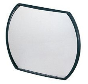 "CIPA 49402 Oblong Stick-On HotSpot Mirror - 4"" x 5.5"""
