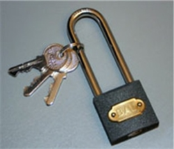 Locking Chock, Pad Lock