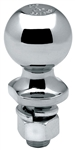 "Draw-Tite 63845 2"" Chrome Hitch Ball 1"" Shank Dia, 2-1/8"" Shank Length - 7500 Lbs"