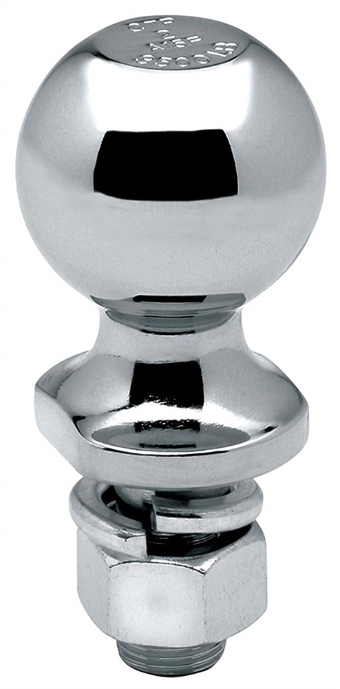 Chrome Draw-Tite 63845 Trailer Hitch Ball