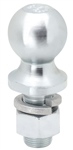 "Draw-Tite 63848 2"" Zinc Hitch Ball 1"" Shank Dia, 2-1/8"" Shank Length - 6000 Lbs"