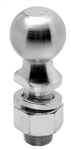 "Draw-Tite 63835 2-5/16"" Zinc Hitch Ball 1-1/4"" Shank Dia, 2-3/4"" Shank Length - 12000 Lbs"