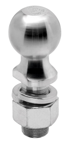 "Reese Zinc Hitch Ball, 2-5/16"" x 1-1/4"" x 2-3/4""; 12,000 lb"
