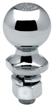 "Draw-Tite 63849 2"" Chrome Hitch Ball 1"" Shank Dia, 3-3/8"" Shank Length - 7500 Lbs"