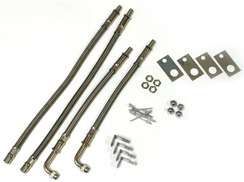 Wheel Masters 8004 Stainless Steel 4 Valve Extender Kit 22