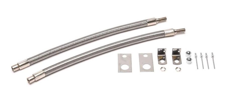 Wheel Masters 8005 Stainless Steel 2 Hose Valve Extender Kit - 22.5 ...
