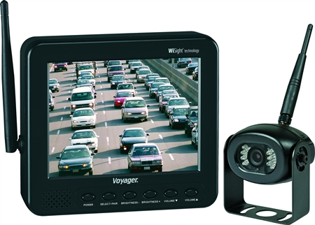 Voyager Digital Wireless Backup System Featuring WiSight Technology