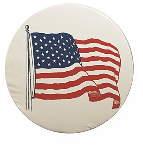 ADCO 1783 Designer American Flag Tire Cover, Size C