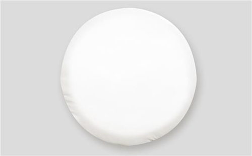 ADCO 1760 Size O Spare Tire Cover - Polar White - 21-1/2""
