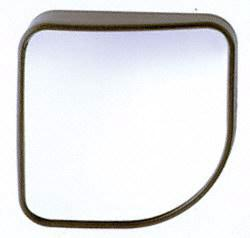 "CIPA 49404 Wedge Stick-On HotSpot Mirror - 2"" x 2"""
