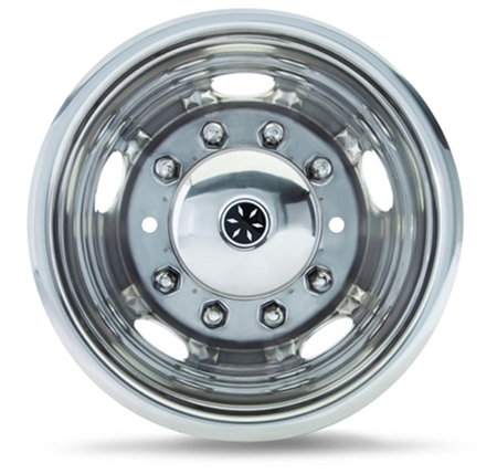 "Dicor Corp V195F96-FWC 19.5"" x 6.00"" 8 Lug, 5 Hand Hole Single Front Versa-Liner - 1999-2002, Ford Super Duty"