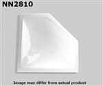 "Specialty Recreation NN2810 Neo-Angle Inner RV Skylight 28"" x 10"" - White"