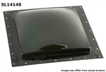 "Specialty Recreation SL1414S Square RV Skylight 14"" x 14"" - Smoke Black"