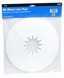 "Reese 83001 12"" Lube Plate For Signature Series"