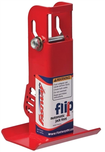Fastway Flip 88-00-4500 Automatic Tongue Jack Foot - 4-1/2""