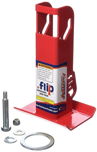 "Fastway Flip 88-00-6500 Automatic 6"" Jack Foot For 2 1/4"" Jacks"