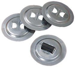 BAL 20031 RV Stabilizer Jack Deluxe Base Pads - Set of 4