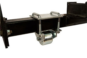 "3"" Hitch Mount Steel Roller"