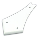 "JR Products 4"" Curved RV Slide Out Cover - Polar White"
