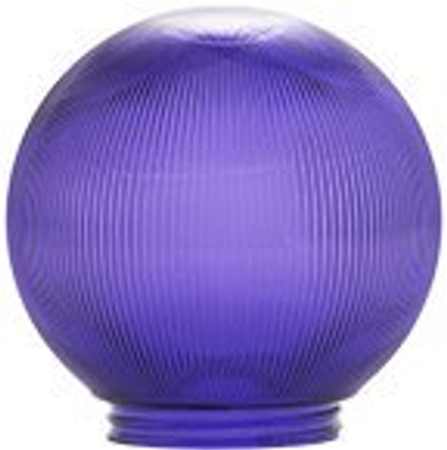 "Polymer Products 3215-51630 6"" Replacement Globes- Purple"
