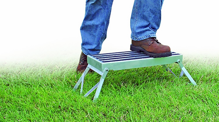 Wondrous Camco 43675 Rv Folding Step Alphanode Cool Chair Designs And Ideas Alphanodeonline