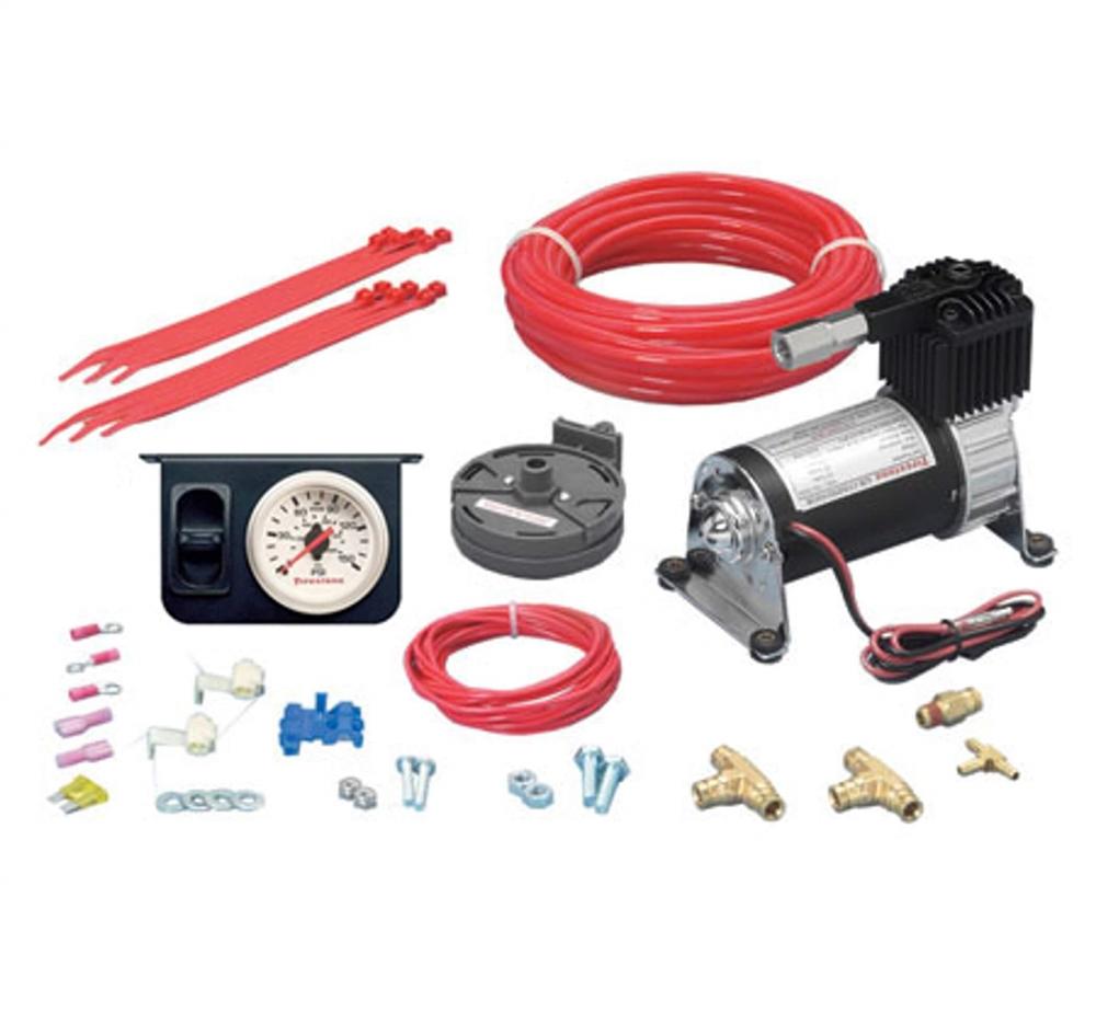 Firestone 2158 Ride-Rite Level Command II, Single Gauge Compressor Kit