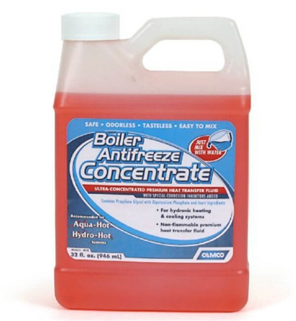 Camco 35116 Boiler Antifreeze Concentrate 32 Oz