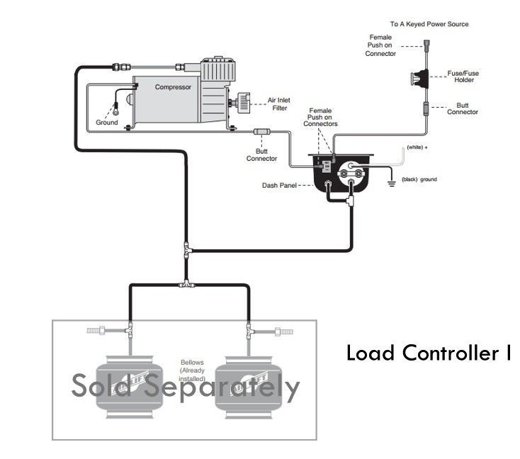 Air Lift 25655 Load Controller I  Single Path