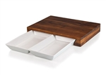 Picnic Time 965-00-506-000-9 Campagno Cutting Board and Serving Dish Set - Acacia