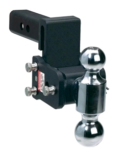 "B & W TS10033B 3"" Drop Tow & Stow Dual-Ball Ball Mount"