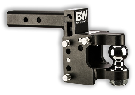 "B & W TS10055 2"" Ball Tow & Stow Pintle Hitch"