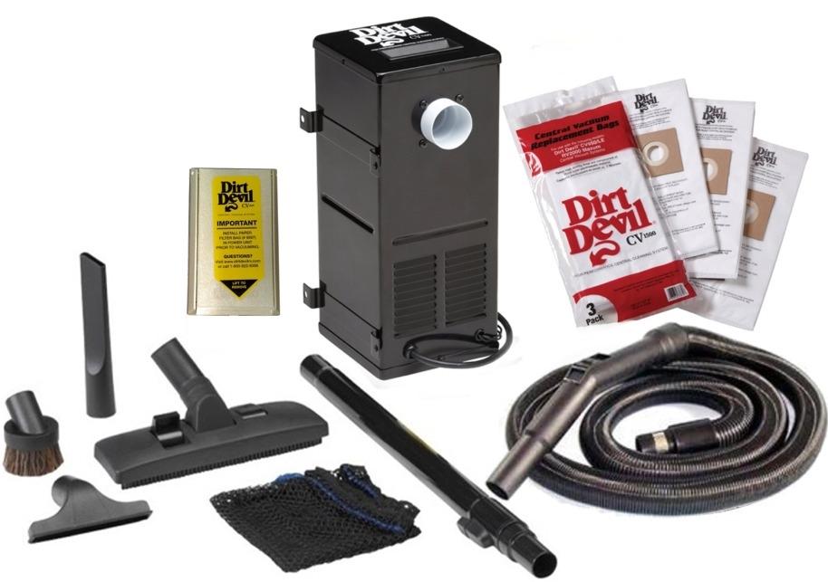 Dirt Devil Cv1500 Rv Central Vacuum System Without Rug Rat