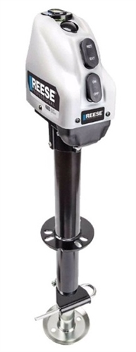 Reese 500702 A-Frame Powered Jack - 4,000 lbs Capacity - White